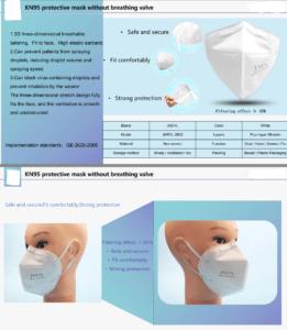 PPE: KN95 Face Masks